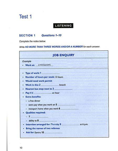 کتاب Cambridge IELTS 9 – کمبریج آیلتس 9
