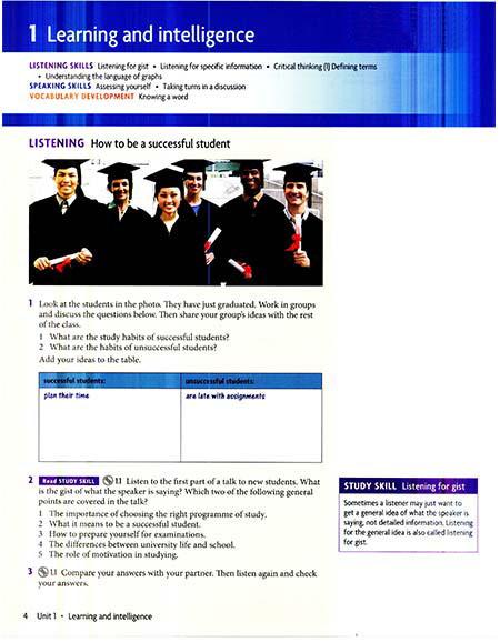 کتاب (Headway Academic Skills level 3 (Listening,Speaking