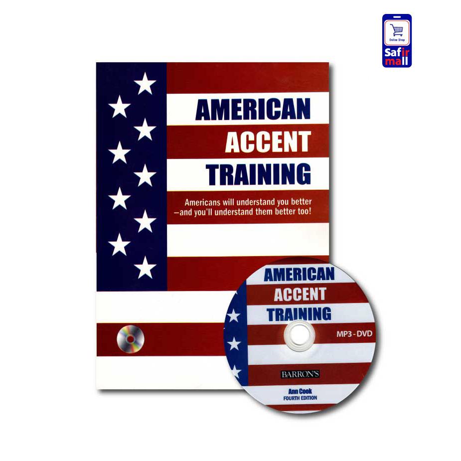 کتاب آمریکن اکسنت ترینینگ American Accent Training