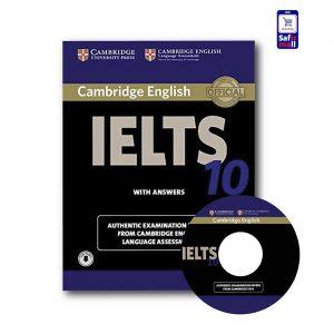 کتاب Cambridge IELTS 10 - کمبریج آیلتس 10
