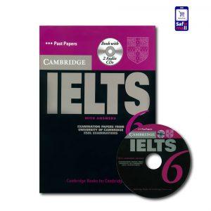 کتاب Cambridge IELTS 6 - کمبریج آیلتس 6