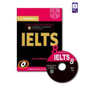 کتاب Cambridge IELTS 8 - کمبریج آیلتس 8