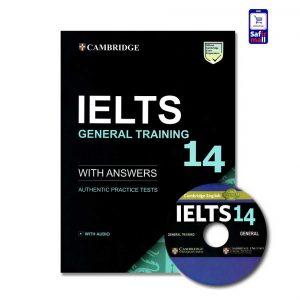 کتاب Cambridge IELTS 14 General - کمبریج آیلتس جنرال 14