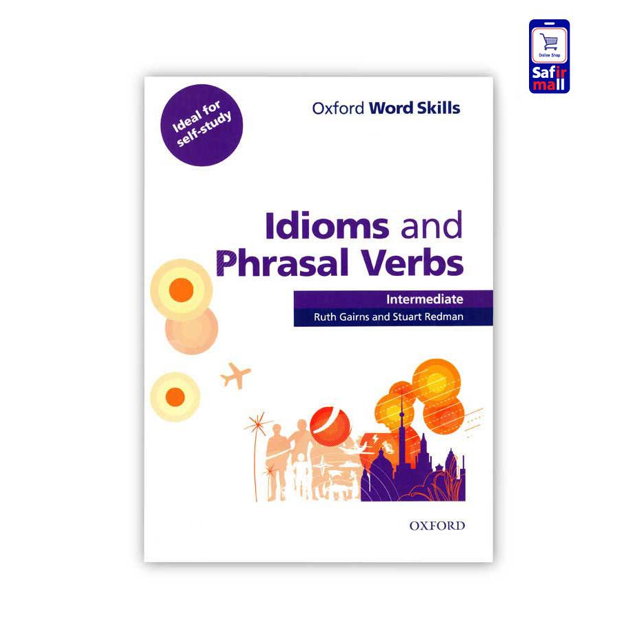 کتاب Oxford idioms and phrasal verbs intermediate