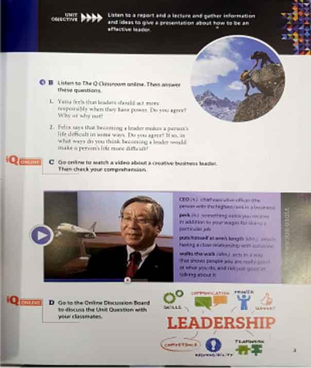 کتاب کیو اسکیل Q skills for success listening and speaking 4