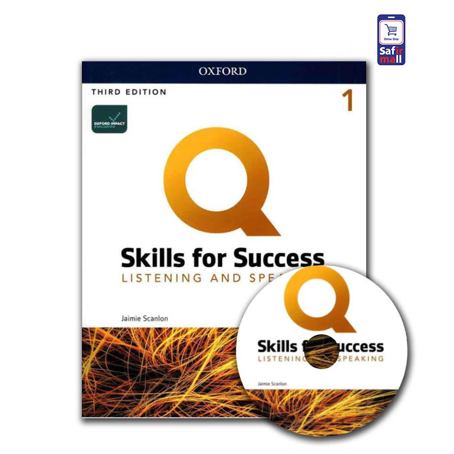کتاب کیو اسکیل Q skills for success listening and speaking 1