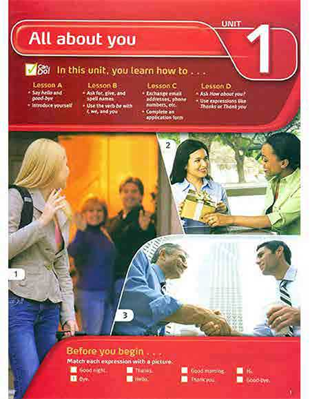 Touchstone 1- کتاب تاچ استون 1
