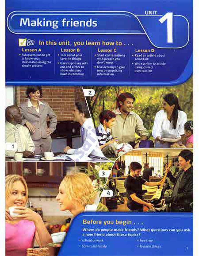 Touchstone 2- کتاب تاچ استون 2