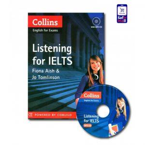 کتاب Collins English for Exams Listening for IELTS