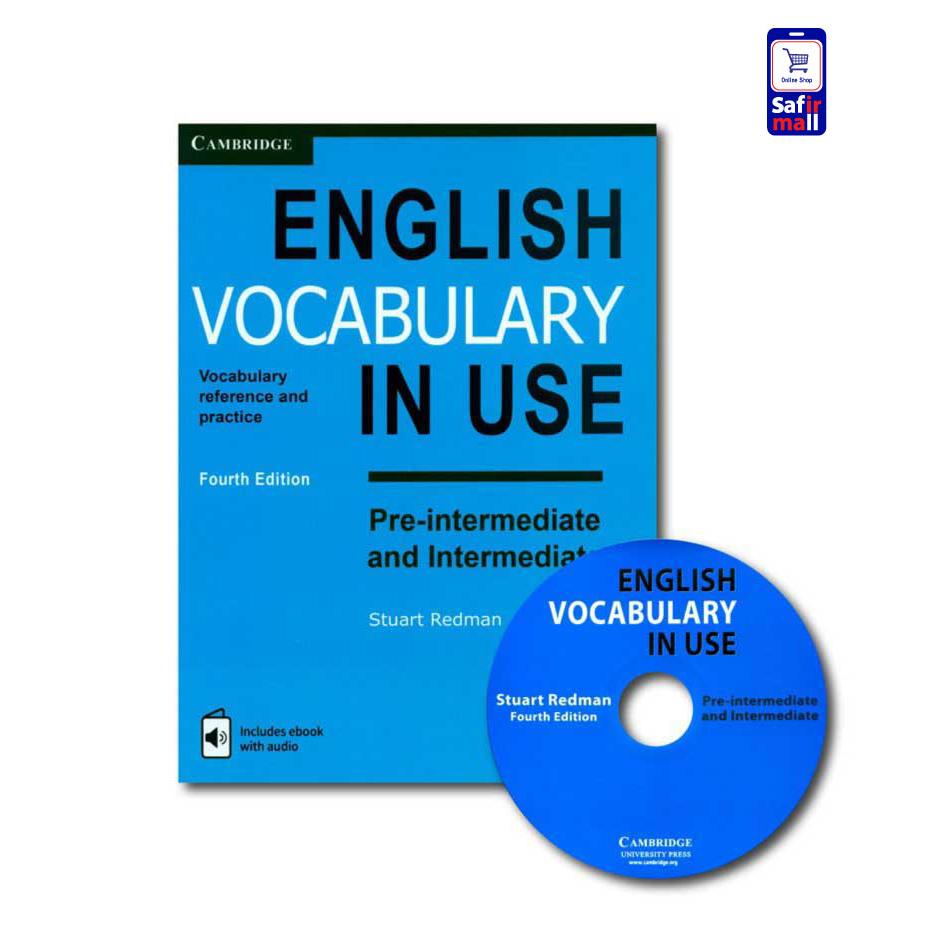 کتاب وکب این یوز English Vocabulary in use Pre-intermediate & Intermediate