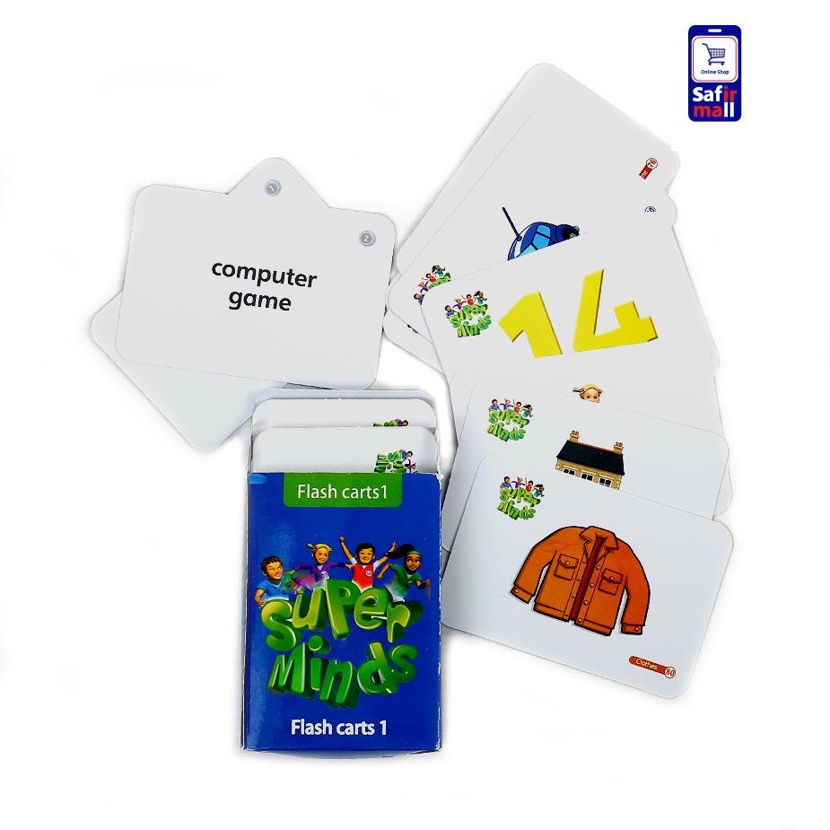 فلش کارت Superminds Flashcards 1
