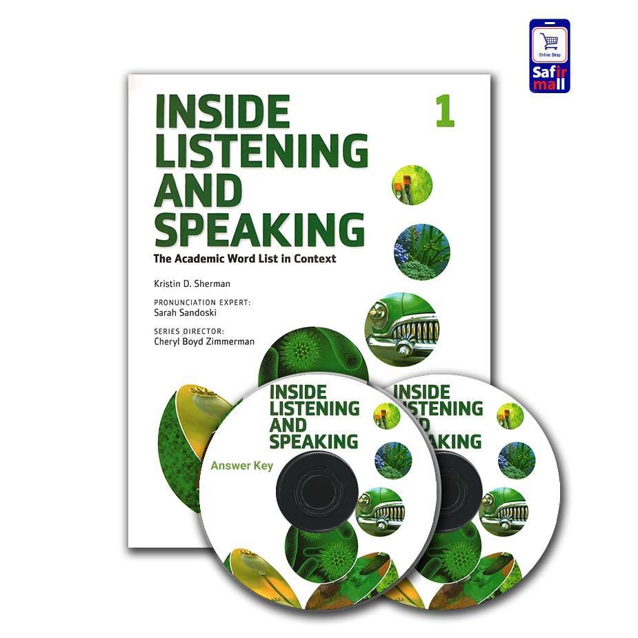 کتاب اینساید لیسنینگ Inside Listening And Speaking 1