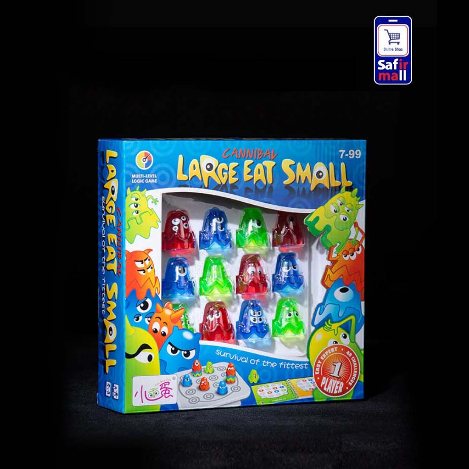 بازی فکری Large Eat Small