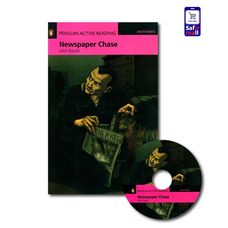 کتاب داستان انگلیسی Newspaper Chase