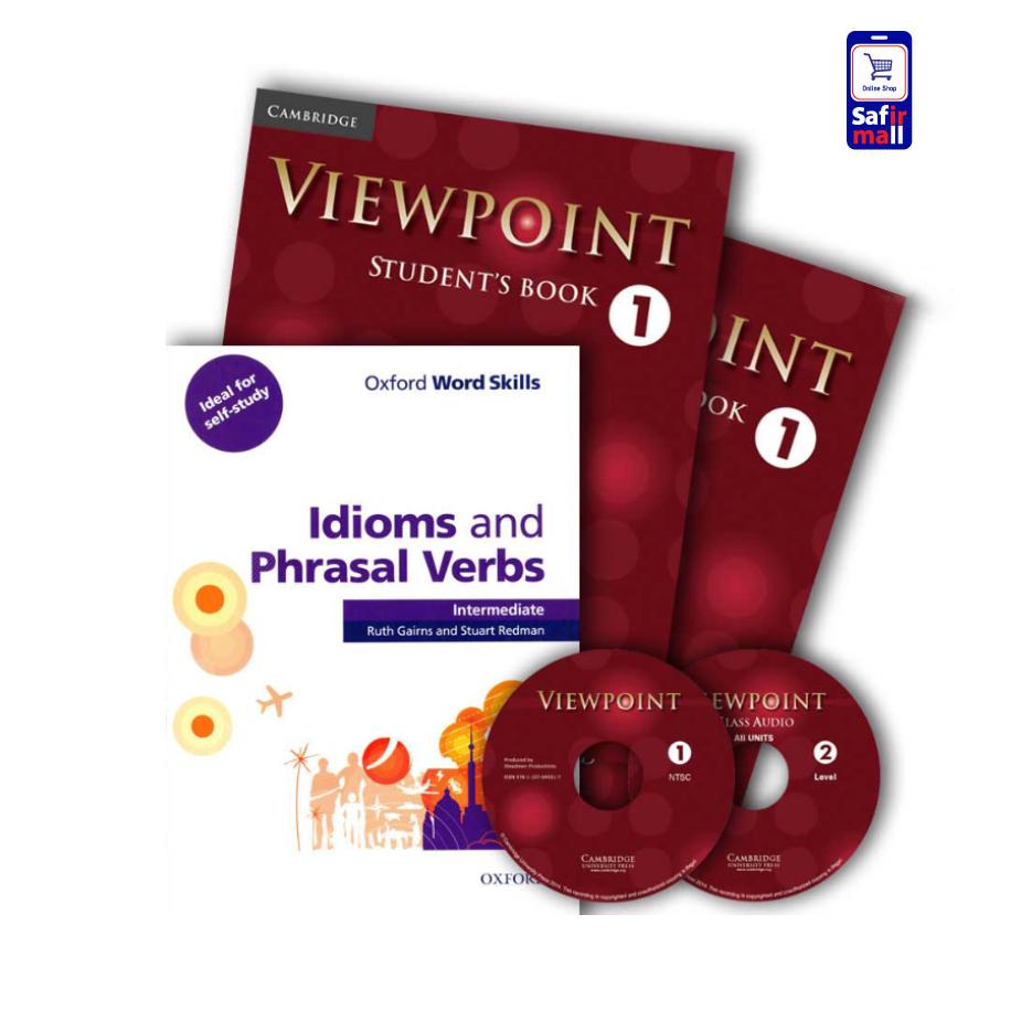 ViewPoint 1 + Idioms and Phrasal Verbs intermediate – پک ویوپوینت 1 و آکسفورد