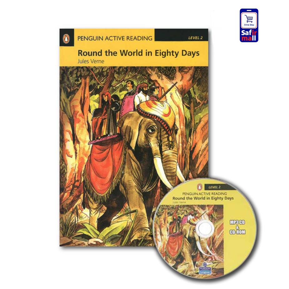 کتاب داستان انگلیسی Round the World in Eighty Days