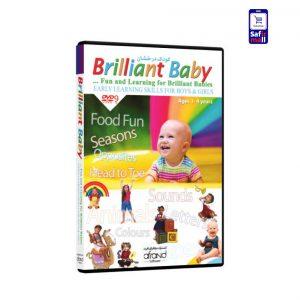 مجموعه آموزشی Brilliant Baby