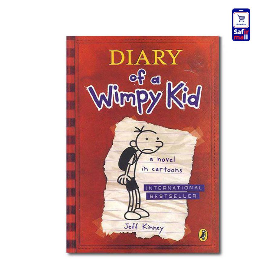کتاب Diary of a Wimpy Kid – A novel in cartoons