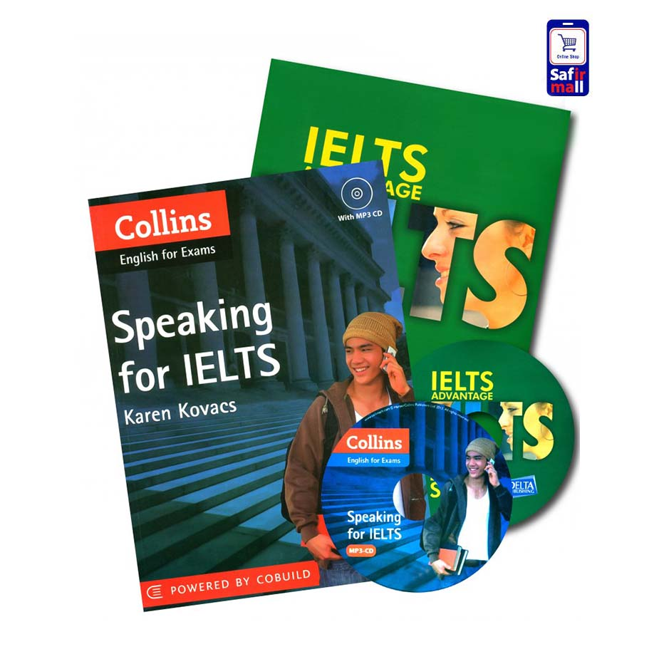 پک کتاب های آیلتس اسپیکینگ Collins & IELTS Advantage