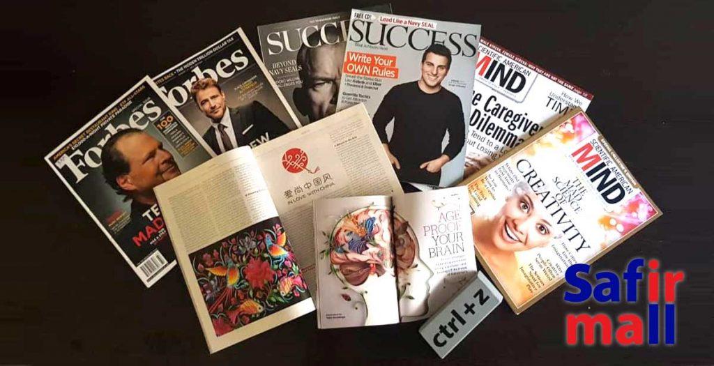 یادگیری زبان را با خواندن مجلات