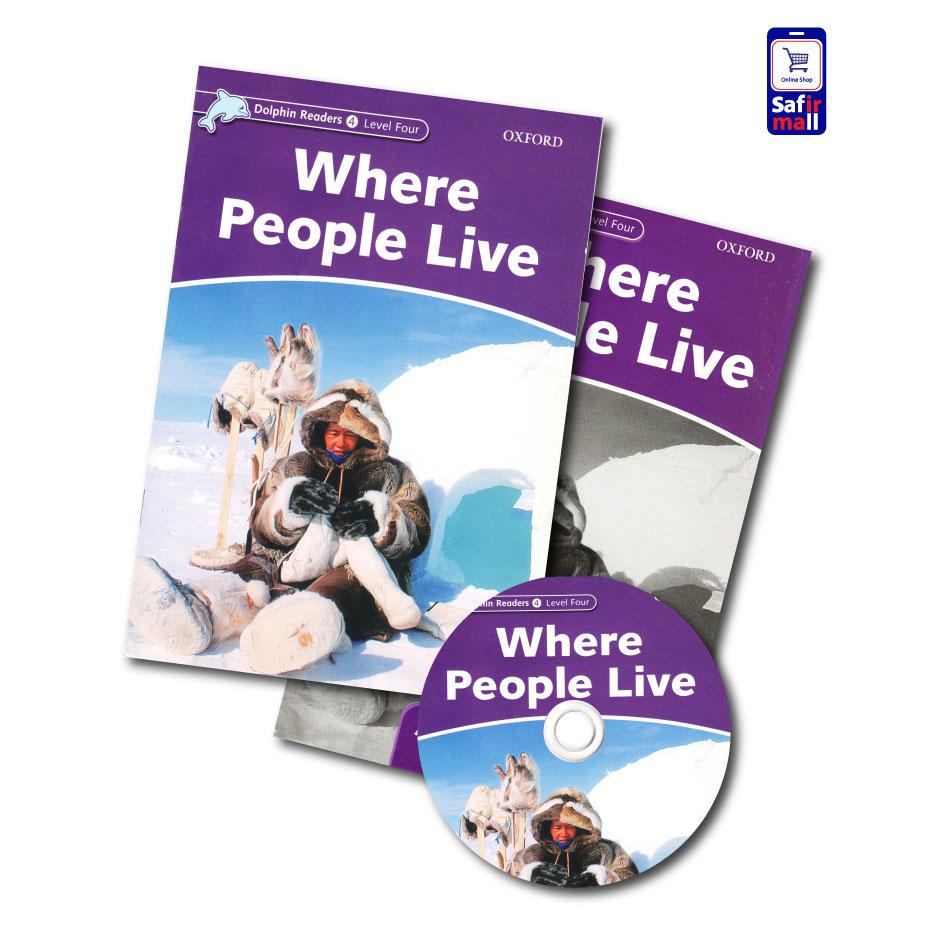 کتاب داستان انگلیسی Where People Live