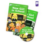 کتاب داستان انگلیسی New Girl in School