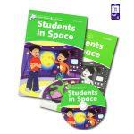کتاب داستان انگلیسی Students in Space