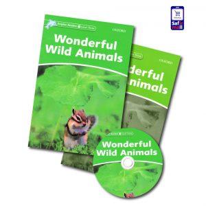 کتاب داستان انگلیسی Wonderful Wild Animals