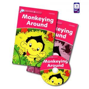 کتاب داستان انگلیسی Monkeying Around