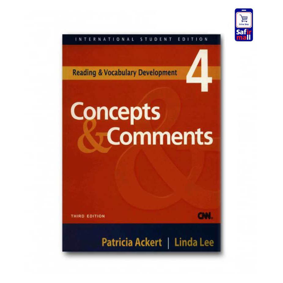 کتاب Concepts & Comments