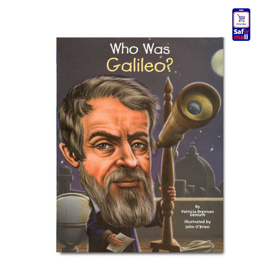 کتاب داستان انگلیسی ?Who was Galileo