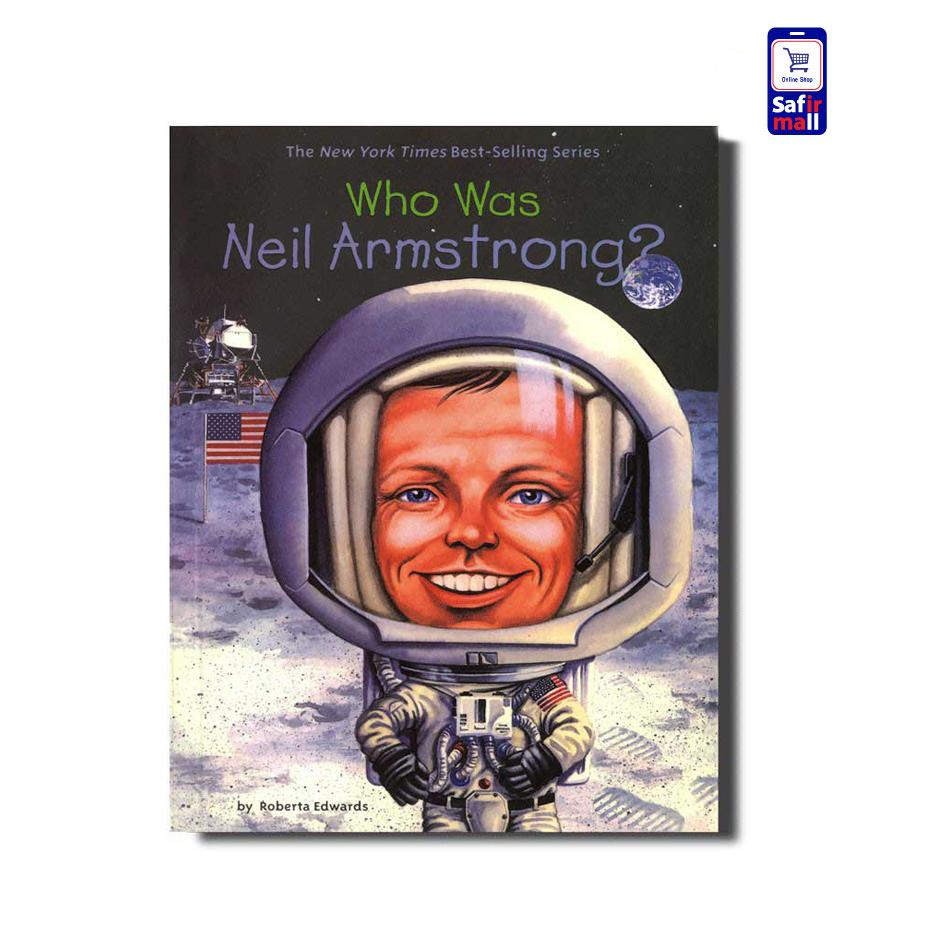 کتاب داستان انگلیسی ?Who was Neil Armstrong