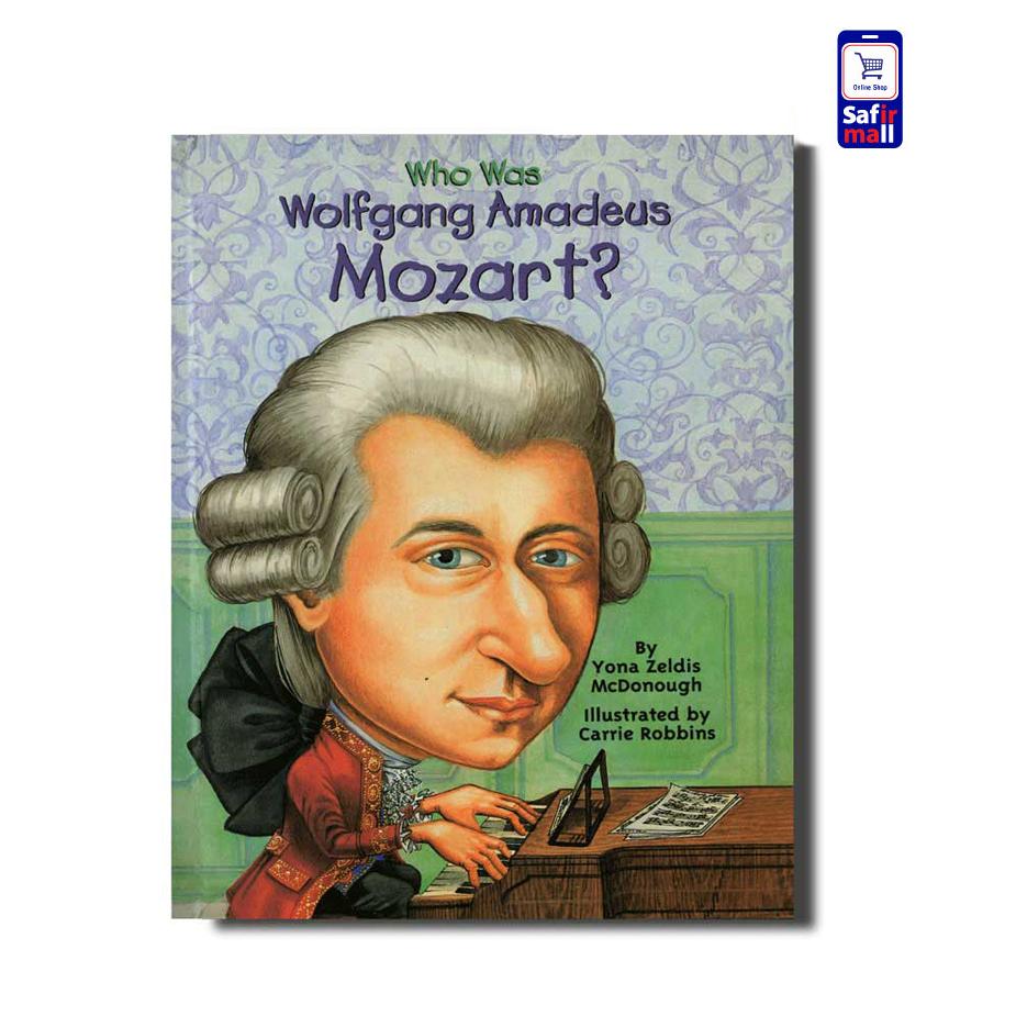 کتاب داستان انگلیسی ?Who was Wolfgang Amadeus Mozart