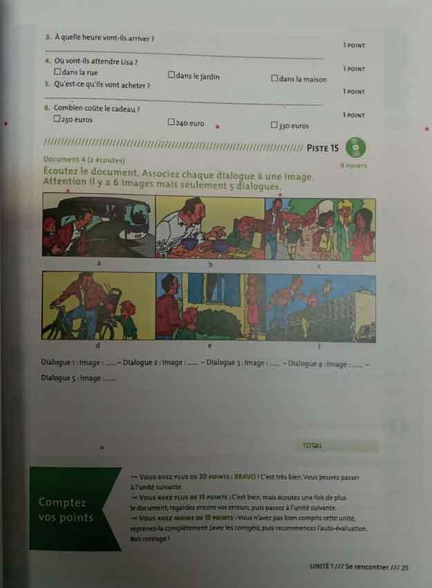 کتاب (Comprehension Orale (A1,A2
