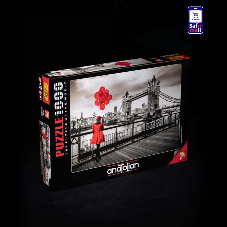 پازل 1000 تکه آناتولین طرح Tower Bridge