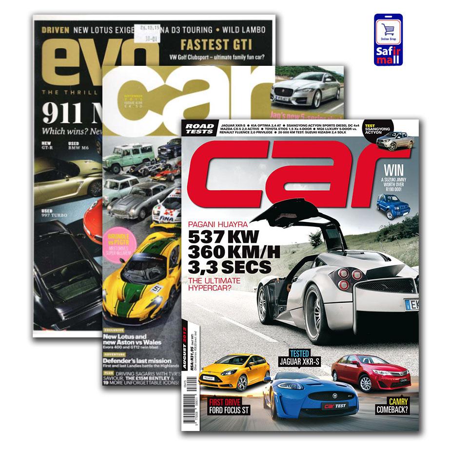 مجله انگلیسی Car و Evo