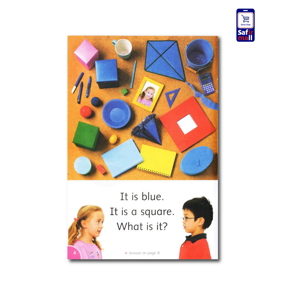 کتاب داستان انگلیسی A Game of Shapes