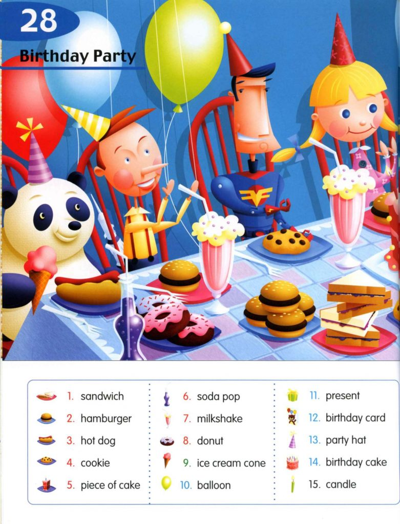 دانلود PDF دیکشنری لانگمن Longman Children's Picture Dictionary