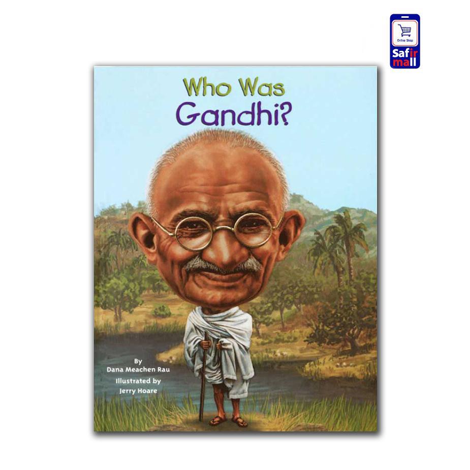 کتاب داستان انگلیسی ?Who was Gandhi