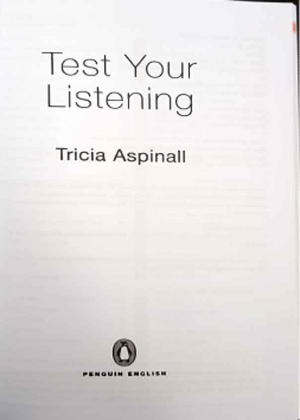 کتاب تست یور لیسنینگ Test Your Listening