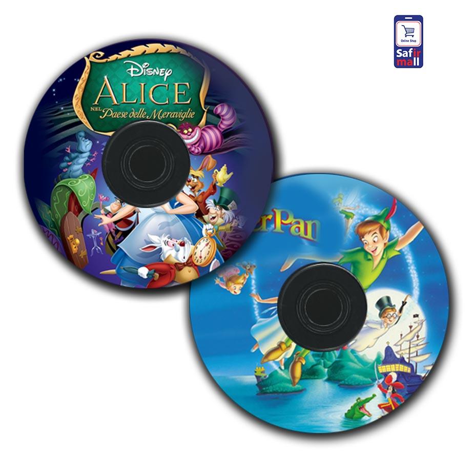 کارتون آلیس در سرزمین عجایب و پیترپن