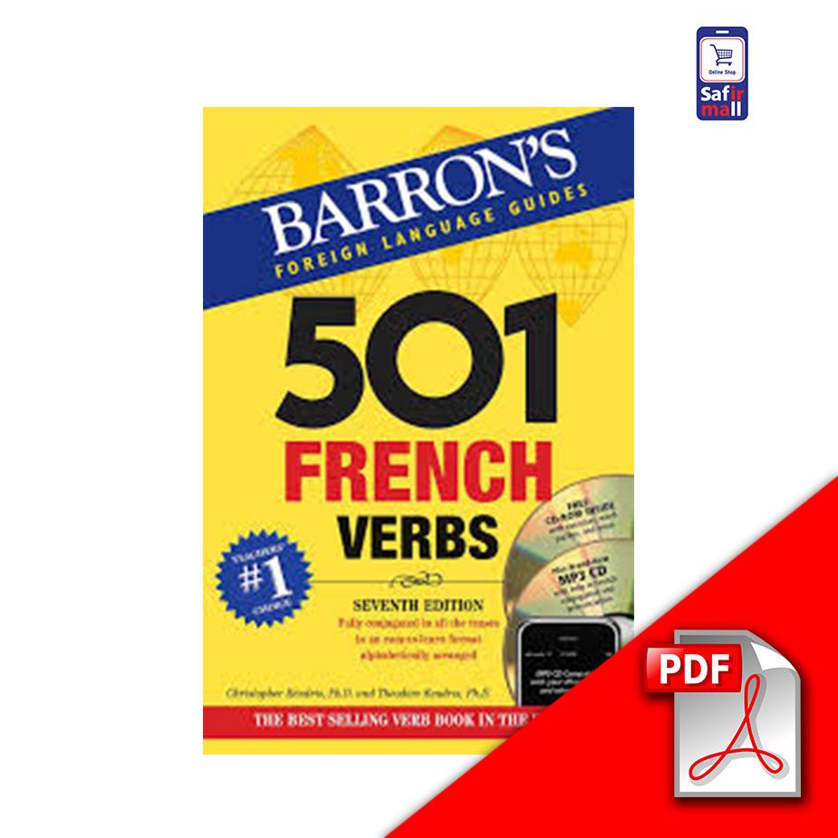دانلود PDF کتاب Barrons 501 French Verbs