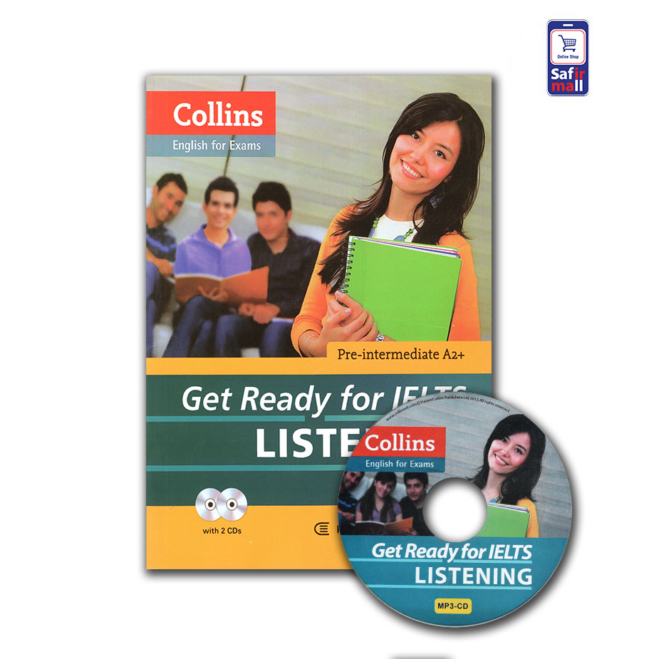 کتاب Collins Get Ready for IELTS listening