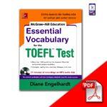دانلود PDF کتاب Essential Vocabulary for the TOEFL Diane-Engelhardt