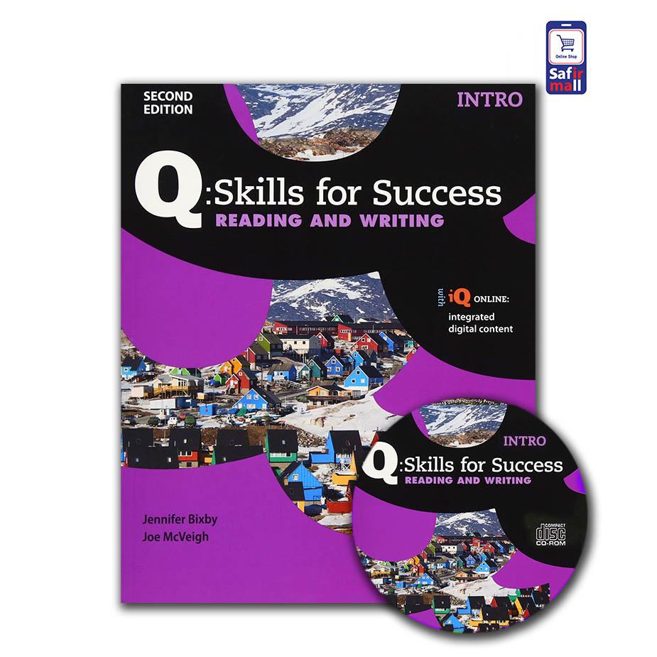 کتاب کیو اسکیل Q skills for success Reading & Writing Intro