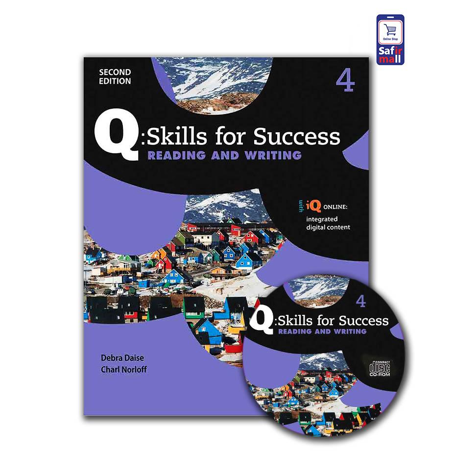 کتاب کیو اسکیل Q skills for success Reading & Writing 4