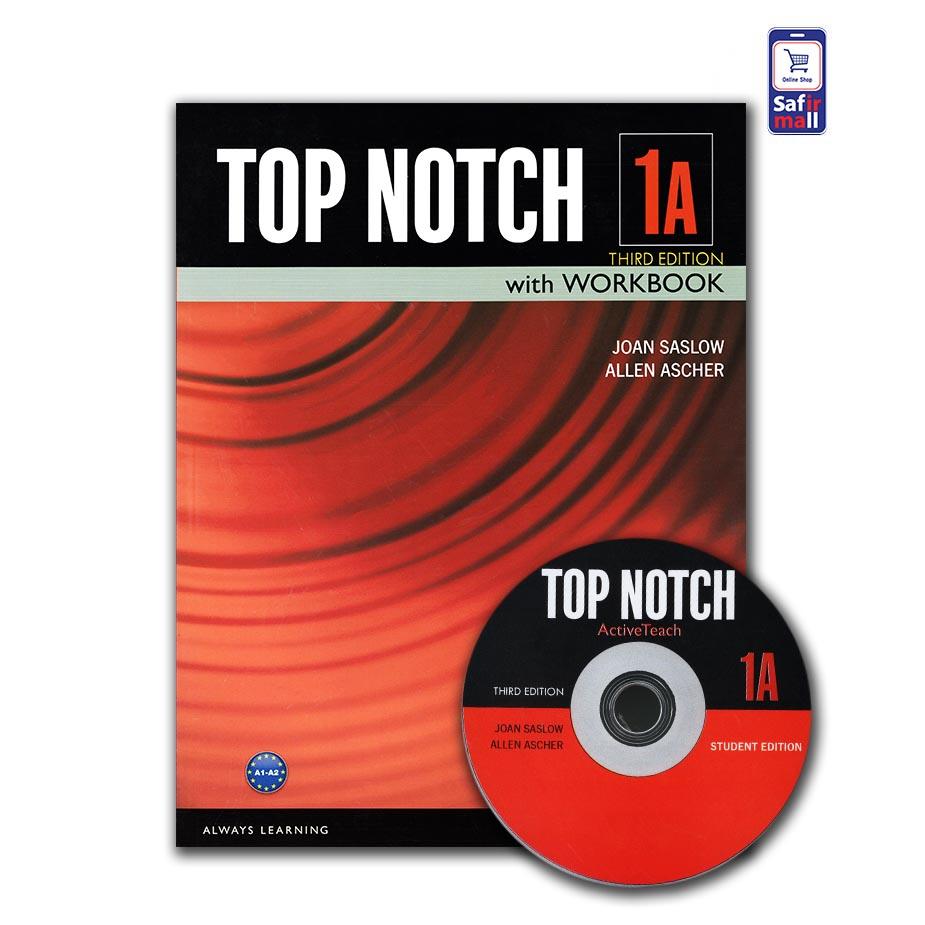 کتاب تاپ ناچ Top Notch- 1A