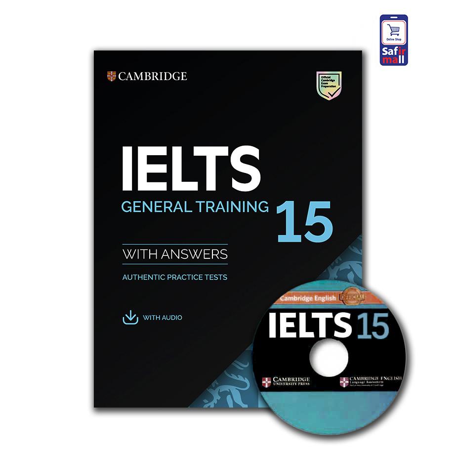 کتاب Cambridge IELTS 15 General – کمبریج آیلتس جنرال 15