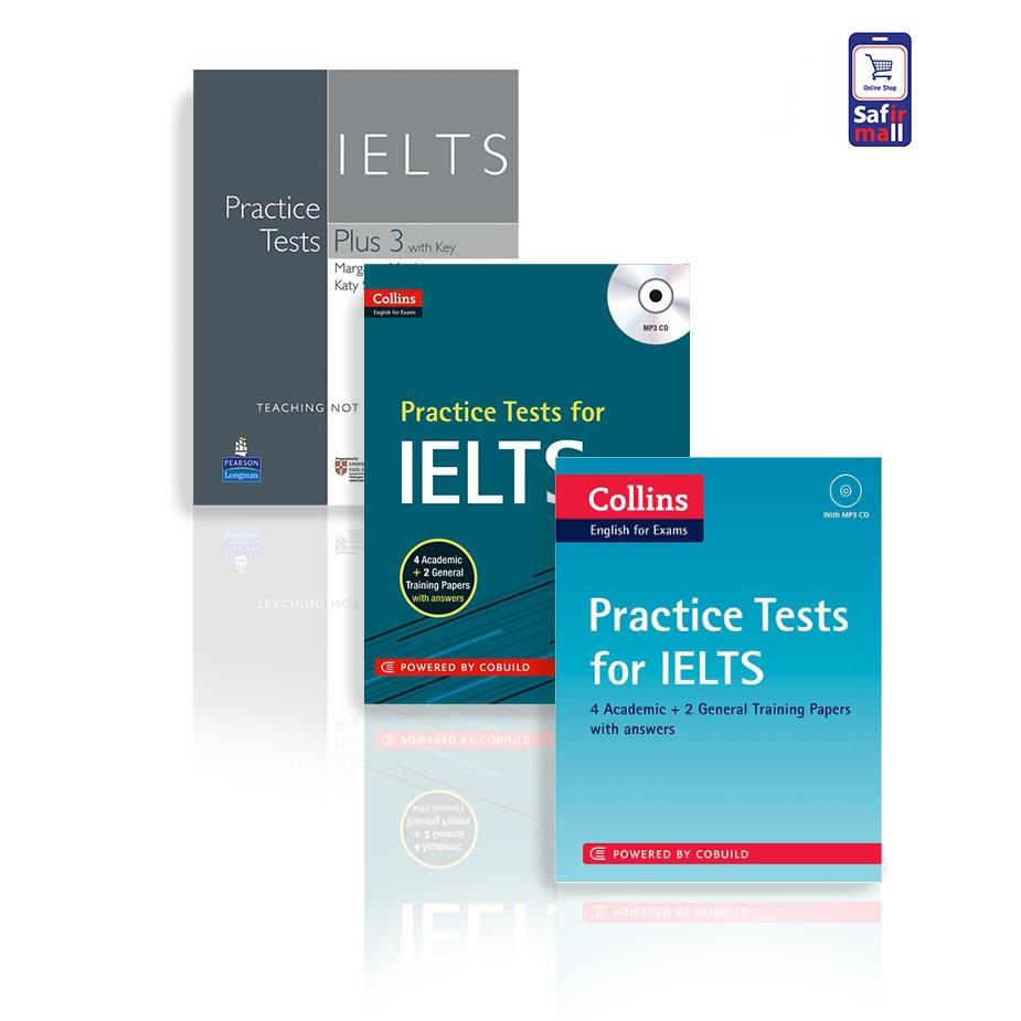 مجموعه کتاب نمونه سوالات آیلتس Practice Tests for IELTS