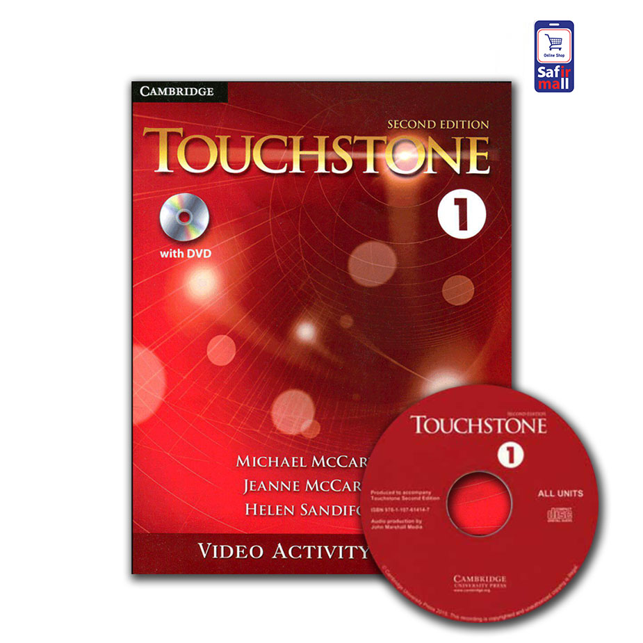 کتاب فعالیت های ویدئویی تاچ استون  TouchStone 1 – Video Activity Book